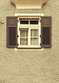 Bavarian Window — Stock Photo