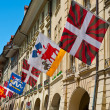 Flags in Berne — Stock Photo #69984383