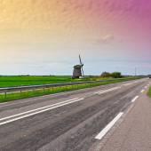Nederlandse molen — Stockfoto