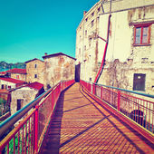 Pedestrian Bridge — Stock Photo