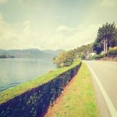Lago d ' orta — Foto de Stock