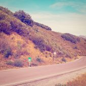 Road in Cantabria — Stock Photo