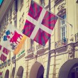 Flags in Berne — Stock Photo #79143406