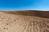 Plowed Hills — Stock Photo