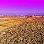 Desert at Sunset — Stock Photo