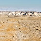 Dirt Road  in Israel — Stock Photo