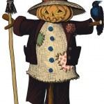 Scarecrow — Stock Vector #54536725