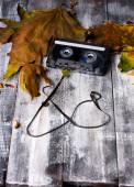 Кассеты осенью — Стоковое фото