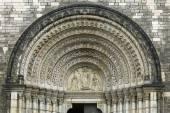Doorway of Church of Saints Cyril and Methodius, Prague — Стоковое фото
