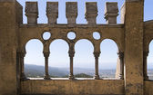 Arabian gallery in Pena palace, Sintra — Stock Photo