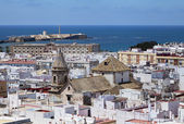 Cadiz, view from torre Tavira — Stock Photo