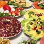 Banquet salads — Stock Photo #64379311