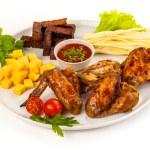 Fried chicken — Stock Photo #58391137