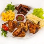 Fried chicken — Stock Photo #58391153