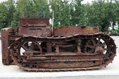 Antique crawler — Stock Photo