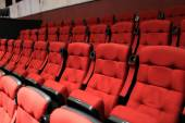 Red soft seats — Stockfoto