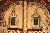 Part of door church — Stok fotoğraf