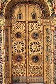 Détails d'une église de porte — Photo