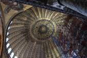 Details of main dome of Hagia Sophia — Stock Photo