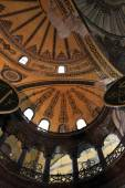Fragment of the dome Hagia Sophia museum — Photo