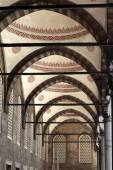 Details arcade of Blue mosque — Stock Photo