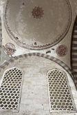Ceiling arcade of blue mosque — Fotografia Stock