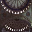 Part main dome of Sultan Ahmed Mosque — Stock Photo #56778611
