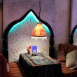 Interior of uzbek restaurant — Stock Photo #59109073