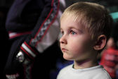 Kid at a concert — Stock Photo