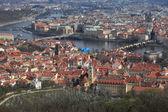 Spring landscape of Prague — Foto Stock