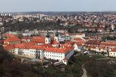View of Strahov Monastery — Foto Stock