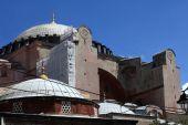 Fragment of Hagia Sophia — Stock Photo