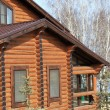 Part of a wooden house — Stock Photo #71250599