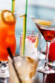 Cocktail in  bar — Stock Photo