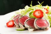 Tuna appetizer — Stock Photo