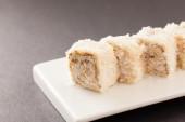 Sweet sushi — Stock Photo