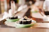 Läckra sushi — Stockfoto