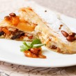 Strudel with cottage cheese — Stock Photo #54999313