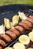 Grilled kebab — Stock Photo