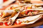 Tortilla sebzeler — Stok fotoğraf