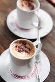 Cappuccino au chocolat — Photo