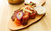 Grilled ribs — Stock Photo