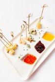Talířek sýra — Stock fotografie