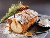 Winter pear cake — Foto Stock