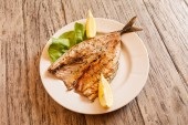 Roasted mackerel — Stock Photo