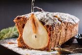 洋梨のケーキ — ストック写真