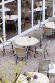 Outdoor-café — Stockfoto