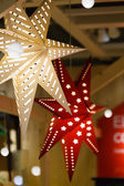 Christmas stars closeup — Stock Photo