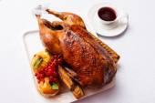 Roasted turkey — Stock Photo