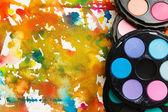 Barvy na pozadí abstraktní — Stock fotografie